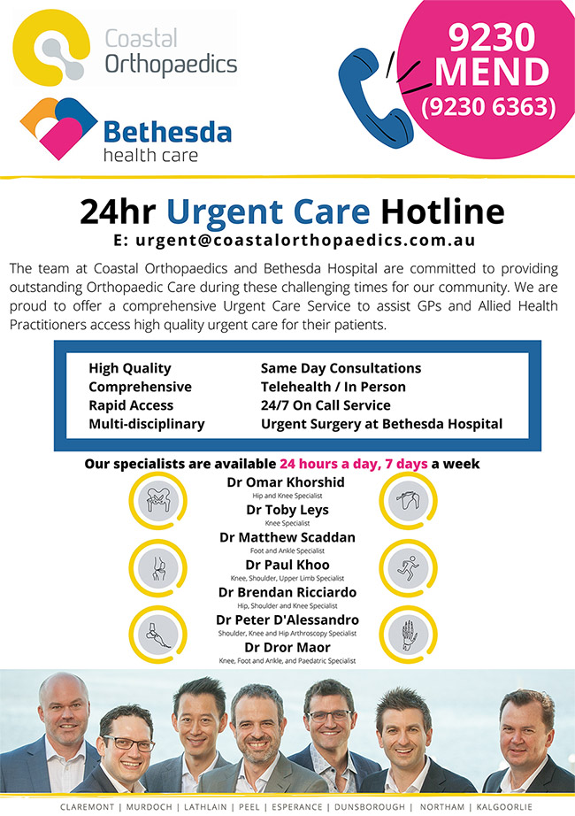24hr Urgent Care Hotline